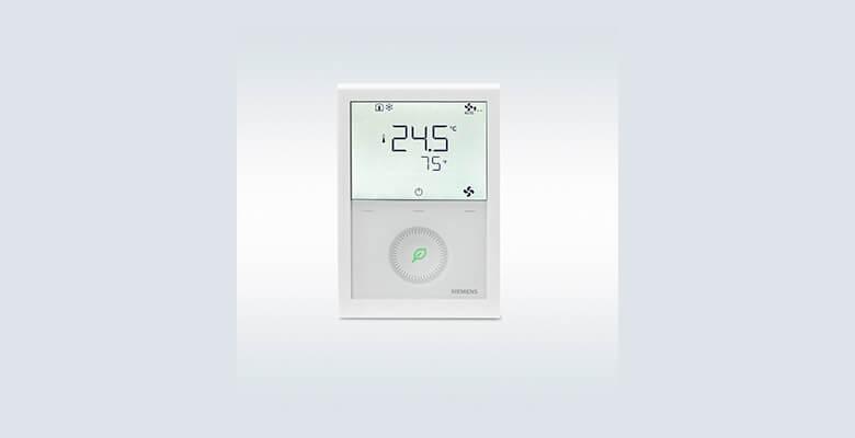 Siemens, yeni haberleşmeli termostat ailesi ile enerji tasarrufu sağlıyor