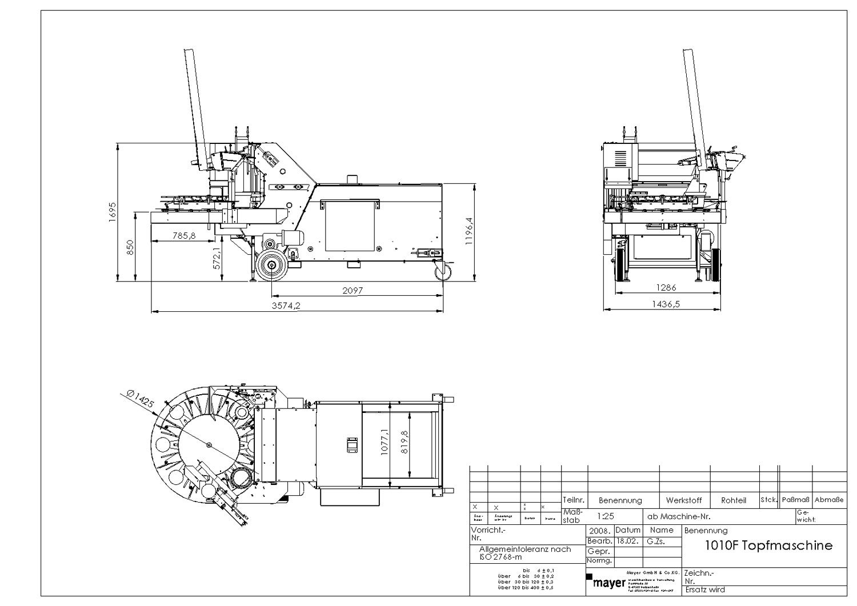 Mayer F Lt T16 Potting Machine