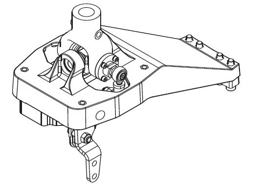 Industrial Horizontal Manual Transmission Shifter HGS