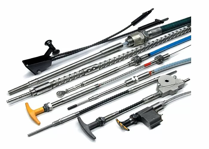 Size Custom Control Cable Various Material For Aircraft