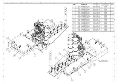 CAD Drafting Services: SolidWorks 2D Drafting, CAD
