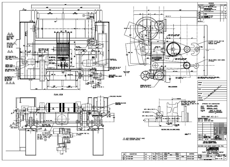 Mechanical Drawing Art
