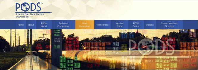 PODS pipeline Open data standard