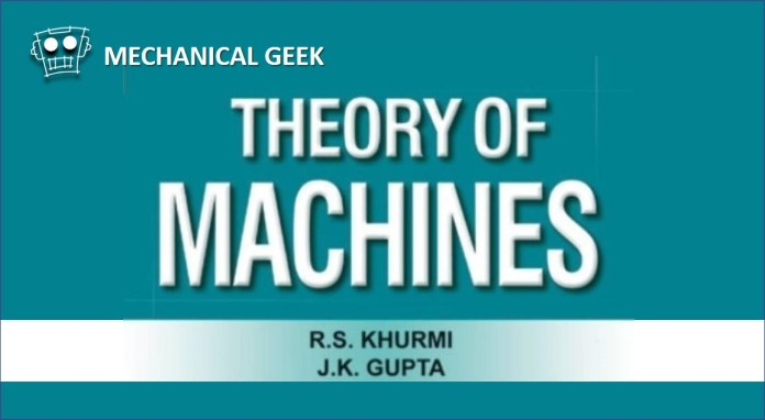 Pdf Theory Of Machines By Rs Khurmi Pdf Free Download Mechanical Geek