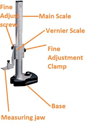 What is vernier height gauge?