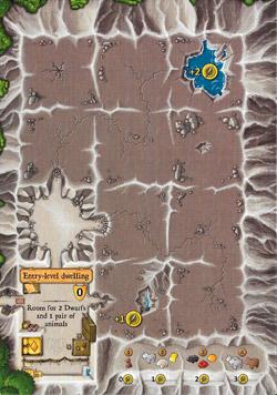 Caverna: Cavern Board