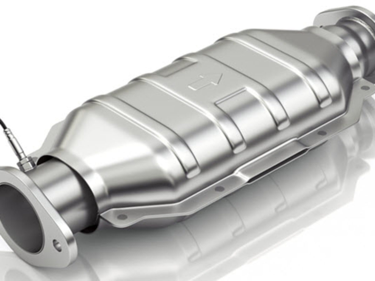 clogged catalytic converter