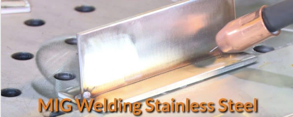 understanding mig welding stainless