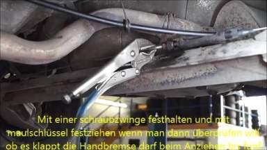 Opel Corsa B Handbremse