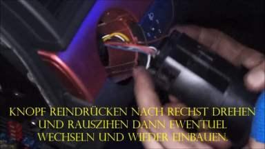 Audi A4 Lichtschalter