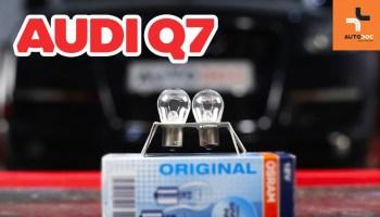 audi a5 kennzeichenbeleuchtung wechseln - mechaniker24