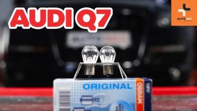 Audi Q7 Heckleuchtenglühlampe