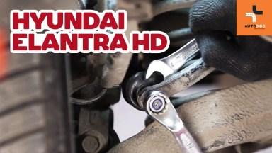 Hyundai Elantra HD Koppelstange hinten