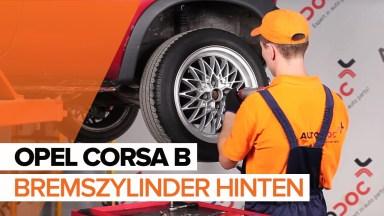 Opel Corsa B Bremszylinder