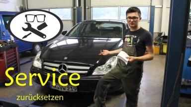 Mercedes-Benz CLS 350 W219 Serviceanzeige