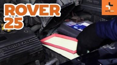 Rover 25 Luftfilter