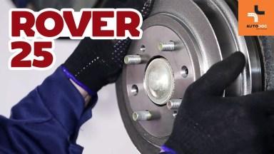 Rover 25 Bremsen hinten