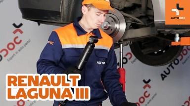 Renault Laguna 3 Stoßdämpfer