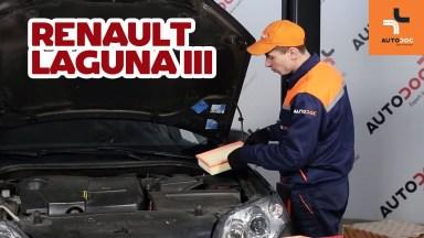 Renault Laguna 3 Luftfilter
