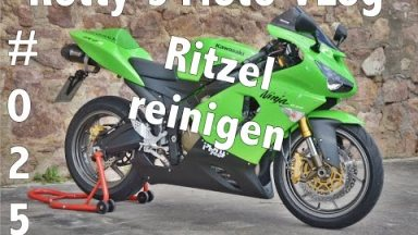 Kawasaki Ninja Ritzelabdeckung