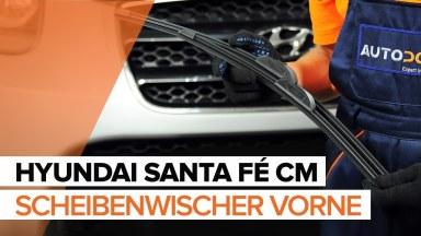 Hyundai Santa Fe CM Scheibenwischer vorne