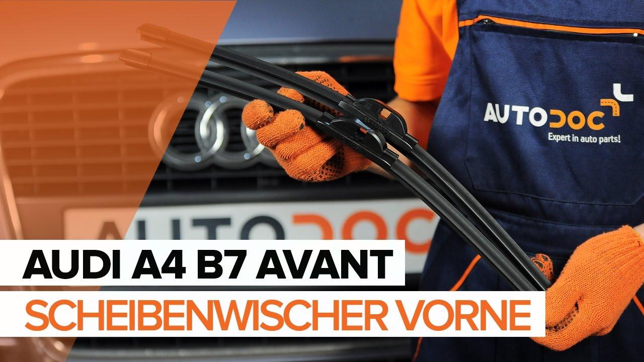 Audi A4 B7 Avant Scheibenwischer Vorne Wechseln Mechaniker24