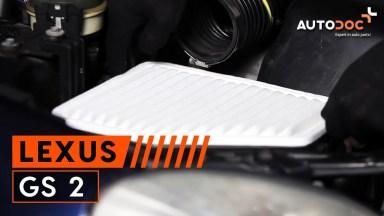 Lexus GS 2 Luftfilter