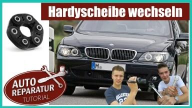 BMW 7er E65 Hardyscheibe
