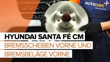 Hyundai Santa Fe CM Bremsen vorne