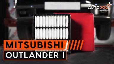 Mitsubishi Outlander 1 Luftfilter