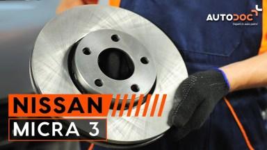 Nissan Micra Bremsen vorne