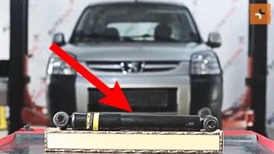 Peugeot Partner Origin Stoßdämpfer hinten