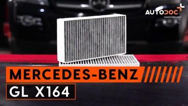 Mercedes-Benz GL X164 Pollenfilter