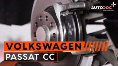 Volkswagen Passat CC 1 Bremsen hinten