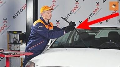 Toyota Avensis 2 Scheibenwischer vorne