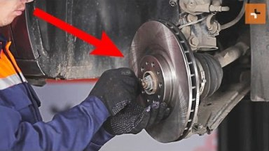Fiat Doblo 2 Bremsen vorne