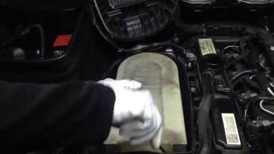 Mercedes-Benz GLK Luftfilter
