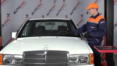 Mercedes-Benz 190 W201 Scheibenwischer vorne