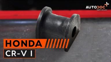 Honda CR-V Stabigummis hinten
