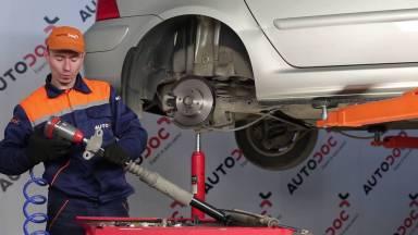 Peugeot 307 Stoßdämpfer hinten