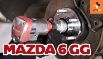 mazda 6 radlager vorne wechseln - mechaniker24