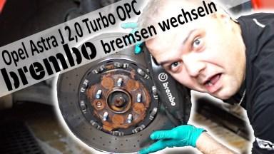 Opel Astra J OPC Bremsen vorne