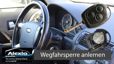 Ford Mondeo 3 Funkschlüssel auf die Wegfahrsperre