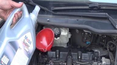 Peugeot 206 Motoröl und Ölfilter