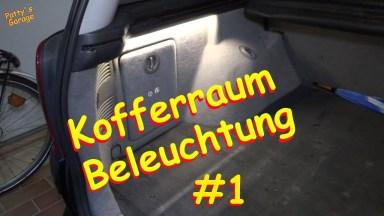 Opel Vectra Kofferraum Beleuchtung