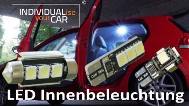 Volkswagen Golf6 Innenbeleuchtung