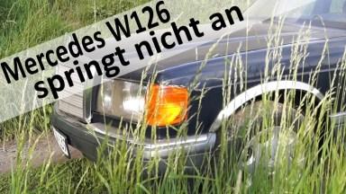 Mercedes S-Klasse W126 Kraftstoffpumpe und Relais