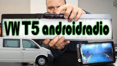 Volkswagen T5 Androidradio mit Rückfahrkamera