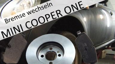 Mini Cooper One Bremsen vorne