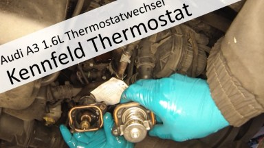 Audi A3 Kennfeldgesteuertes Thermostat für Motorkühlung